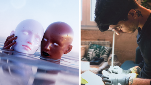 Following Qazar Through Music & 3D New Media Art