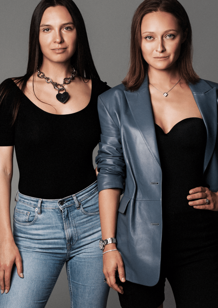 Natalia Shapovalova and Natalida Modenova from DressX
