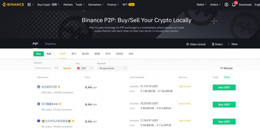 Binance peer-to-peer (P2P): How to P2P Trade Bitcoin on Binance?